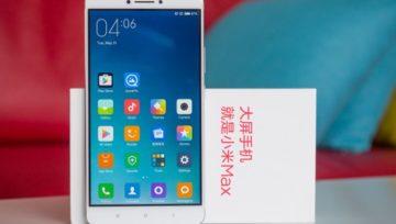 Xiaomi Mi MAX 2 - prime foto e info tecniche